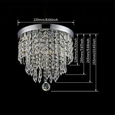hile lighting ku300074 modern chandelier crystal ball fixture