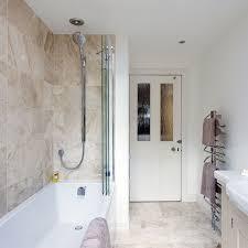 Marble bathroom with shower over bath bathroom designs uk TSC