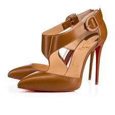 sharpeta 100 safari leather women shoes christian louboutin