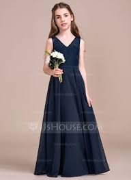 long junior bridesmaid dress ju006 full length skirts wedding