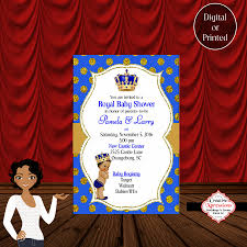 royal blue baby shower royal blue baby prince with royal crown