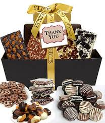 thank you baskets thank you chocolate gift tower at from you flowers
