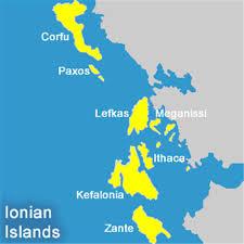 Greek Islands Map Yacht Charter Lefkas