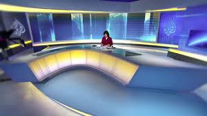 News Studio Desk by Al Jazeera Arabic News Studio Doha On Vimeo