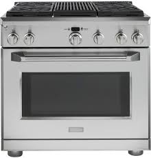 Ge Built In Gas Cooktop 36 Dual Fuel Range At Us Appliance