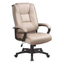 High Back Leather Armchair Star Products Deluxe High Back Executive Leather Chair