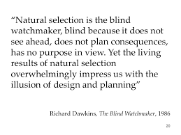 Richard Dawkins Blind Watchmaker Answering Atheism Understanding And Responding To Those That