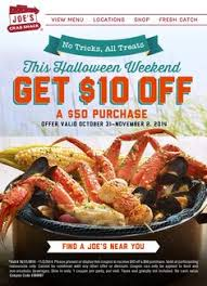 coupons for joe s crab shack joe s crab shack coupons sales save with august 2016 deals