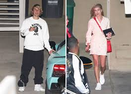 justin bieber easter justin bieber and hailey baldwin hit church on easter week x17