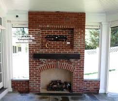 chimneys and fireplaces rocha construction silver spring md