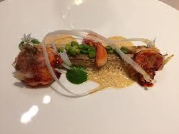 la cuisine de mon pere homard rôti au lard colonata asperges blanches fleurs d ail sauce