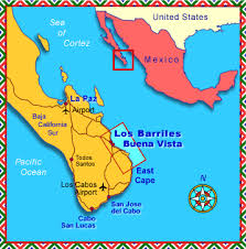 map of mexico and california baja mexico maps eastcape vacation rental homes in baja