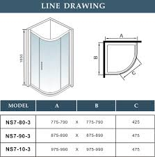 Standard Shower Door Sizes Standard Sliding Glass Door Size Handballtunisie Org