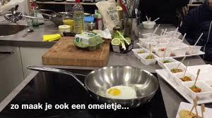 demeyere cuisine aram bakt een ei in de demeyere koekenpan