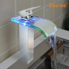 online get cheap color changing sink faucet led light aliexpress