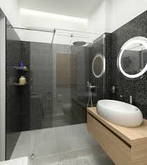 bathroom futuristic bathroom design with white wall sink and