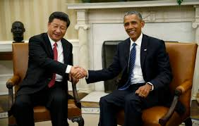 Inside The Oval Office Obama Hosts Xi China Us Announce Climate Deal The Himalayan Times