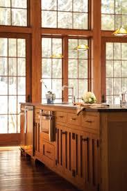 Stickley Kitchen Island Nestled In Newry Maine Home Design