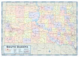 south dakota road map sd road map my