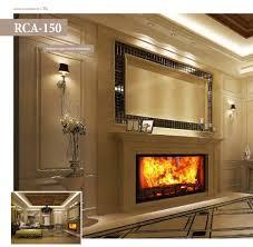 home design unique fireplace screens chrome bathroom light candle