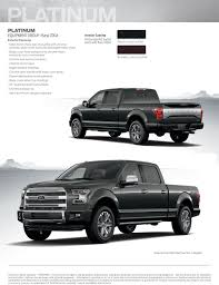 New Interior Appearance Take A Gander At The 2015 F 150 Appearance Guide The News Wheel