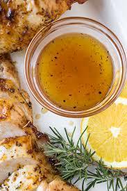 orange honey glazed roasted turkey
