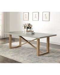 Dining Tables Grey Deal On Abbyson Grey Wood Zen Style Dining Table Grey