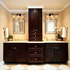 Bathroom Cabinet Design Master Bath Cabinet Ideas Hickory Bathroom Cabinets Medium Size Of