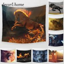 Lion Decor Home Best Lion Tapestry Products On Wanelo