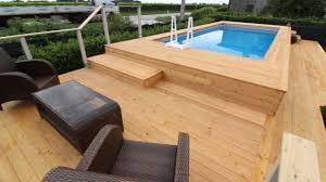 rivestimento in legno per piscine fuori terra piscina fuori terra rivestita in legno di larice siberiano
