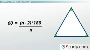 What Is Interior And Exterior Angles How To Measure The Angles Of A Polygon U0026 Find The Sum