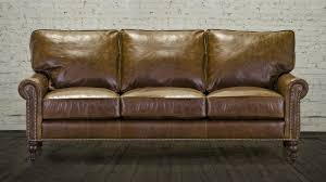 Leather Sofa Cococohome Dilworth Leather Sofa Made In Usa