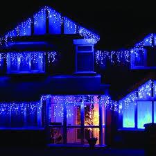 white icicle christmas lights 960 led blue white icicle chaser light outdoor indoor christmas
