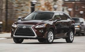 lexus suv length 2016 lexus rx350 awd test u2013 review u2013 car and driver