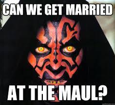 Darth Maul Meme - can we get married at the maul darth maul quickmeme