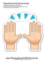 apesar muitos utilizarem esse emoji com o significado de força de