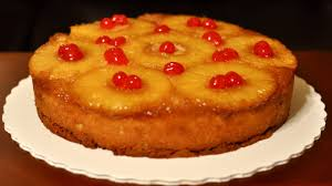 upside down pineapple cake recipe how to make upside down