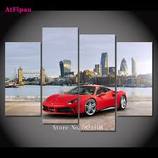 ferrari wall art shenra com buy low price cars