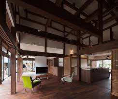 Japanese Traditional Kitchen Traditional Japanese Farmhouse Different Level Kitchen Eating