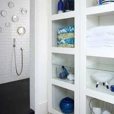 bathroom built in storage ideas 12 wonderful bathroom shower storage ideas direct divide