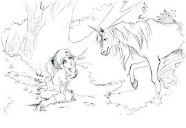 coloring pages of unicorns and fairies unicorn and fairy coloring pages unicorn coloring page the best