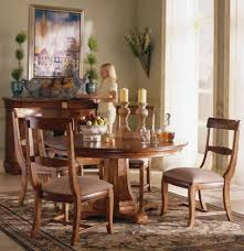 furniture outstanding chairs materials tuscan dining room set