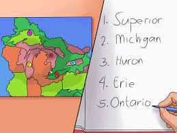 Map Of Michigan Lakes 2 Simple Ways To Remember The Five Great Lakes Wikihow