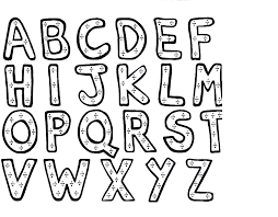 free coloring pages alphabet letters free download free coloring