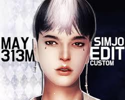 custom hair for sims 4 spring4sims may 313m custom hair edit for the sims 4