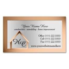Monogram Business Cards Construction Business Card Business Construction Business Cards