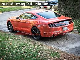 2015 Gt Mustang Black Tail Light Smoke Overlays Black Out 2015 Mustang V6