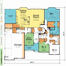 open floor plans one story open floor plans one story fresh e ranch style single modern house