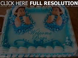 photo twin baby shower dessert ideas image