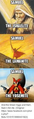 samuel the israelite samuel the lamanite samuel the yosemite and the